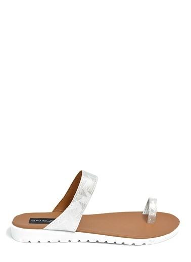 David Jones Sandalet Gümüş